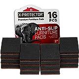Meubelpads X-PROTECTOR - Antislippads - Premium 16 stuks 50 mm - Vloerbeschermers - Rubberen voetjes voor meubelpoten - Ideal