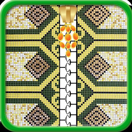 Islamische Zipper Lock Screen (Lock-bildschirm-tür)