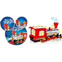 Supreme Deals® Bubble Blowing Toy Train - Battery Powered Steam Bubbles Locomotive Engine Car- Colorful Lights & Fun…