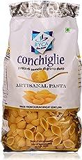 Ryca Artisanal Pasta Premium Quality - Conchiglie, 500 Grams, Rich in Fibre, Imported.