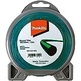 Makita - Cuerda de nylon de 2mm x 15m para cortadora, color verde