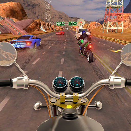 Traffic Bike Rider Super Racer - Bike Games 2018
