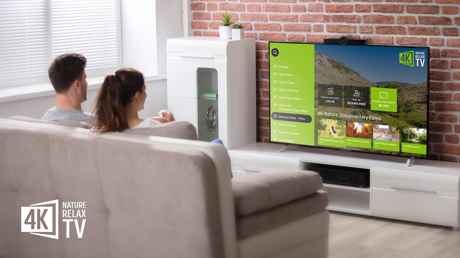 81 oj1UtHyL - 4K Nature Relax TV