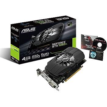 Asus COMPUTER INTL PH-GTX1050TI-4G PCIe Graphics Card