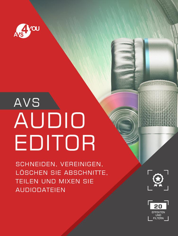 AVS Audio Editor - 2018