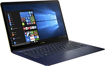 ASUS ZenBook 3 Deluxe UX490 (90NB0EI1-M03690) 35,6 cm (14 Zoll, Full-HD) Ultrabook (Intel Core i5-7200U, 8GB RAM, 256GB SSD, Intel HD Graphics, Windows 10 Pure) Royal Blau