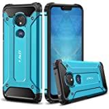 J&D Case Compatibel met Motorola Moto G7 Power/Moto G7 Supra Hoesje, Heavy Duty ArmorBox, Dubbellaagse Schokbestendige Hybrid