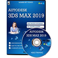 Autodesk 3D Studio Max 2019 Video Tutorials Learning (DVD) 100+ Tutorials 20+ Hours Course