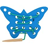Skillofun - H-4I Sewing Toy Butterfly, Multi Color
