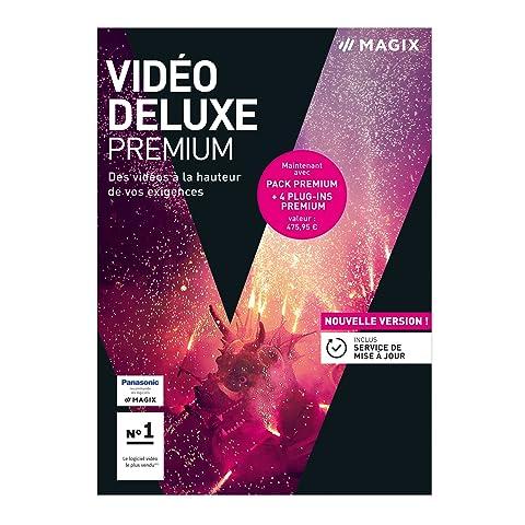 MAGIX Vidéo deluxe 2018 Premium : montage vidéo professionnel pour Windows [Téléchargement]