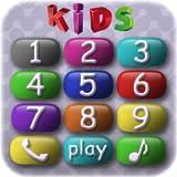 Bebé telefono para niños preescolares - juego divertido y educativo para niños pequeños en el cual bebés juegan y aprenden números, animales domésticos y sus voces y sonidos, así como entrenan las habilidades motoras finas y la memoria