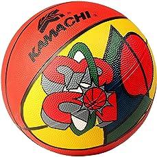 Kamachi Basket Ball Moulded Size 5 (Color red& White)