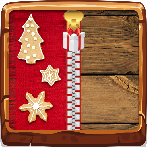 Weihnachten Zipper Lock Screen -