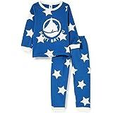 Petit Bateau 5753001 - Pijama con Estrellas para niño (muletón)