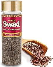Panjon Swad Mouth Freshener, Roasted Flax Seeds, 100g
