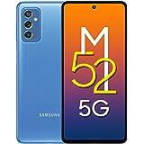 Samsung Galaxy M52 5G (ICY Blue, 6GB RAM, 128GB Storage) Latest Snapdragon 778G 5G | sAMOLED 120Hz Display