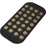 MASTRAD - Moule 28 Mini Cannelés - 100% Silicone Premium - Anti-Adhésif - Maintien Parfait - Gris Fumé