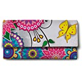 ShopMantra multi flower Multicolor Ladies Wallet LW00000227