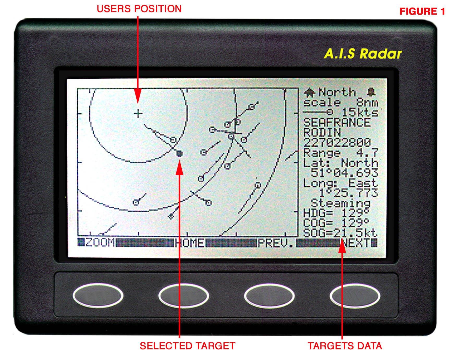 Nasa Clipper AIS Radar Receiver - Dark Grey