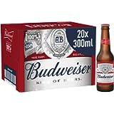 Budweiser Lager Beer Bottle, 20 x 300 ml