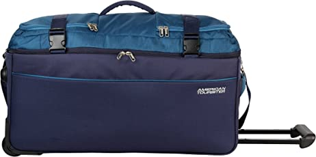 American Tourister Turin Polyester 48 cms Teal Travel Duffle (99O (0) 11 001)