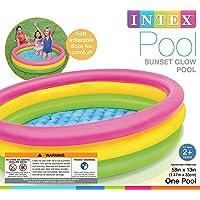 Intex Plastic Water Tub (Multicolour, 5 ft)