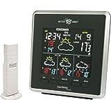 Technoline WD 4026 väderstation direkt – väderstation med LED-indikering, inomhus- och utomhustemperaturindikering, samt väde