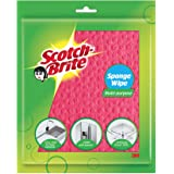Scotch-Brite Sponge Wipe, Pack of 5 (Color and Print May Vary)