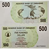 NOVELTY COLLECTIONS-1 Currency Note from Zimbabwe