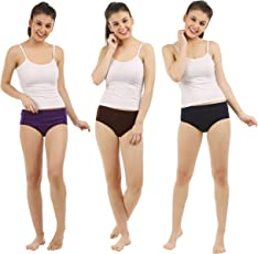 Free State Women's High Quality Cotton Hipster Panties, Pack of 3