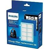 Philips FC8010/02 original reservfilterset (för PowerPro Compact och Active golvdammsugare) blå/vit