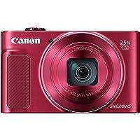 Canon PowerShot SX620 HS Digitalkamera (20,2 MP, 25-fach optischer Zoom, 50-fach ZoomPlus,…