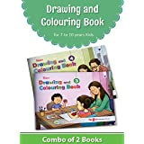 Blossom Drawing and Colouring Practice Books for Kids | 7 to 10 Year | Learn How to Draw Easily with Step by Step Instruction