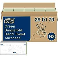 Tork Essuie-mains pliés en V Advanced - 290179 - Papier d'essuyage pour Distributeur H3 - Absorbant et indéchirable, 2…