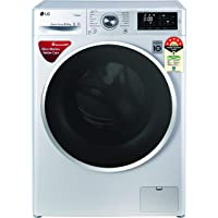 LG 6.5 Kg 5 Star Inverter Fully-Automatic Front Loading Washing Machine (FHT1265ZNL, Luxury Silver, 6 Motion Direct…