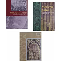 3 OLD NCERT HISTORY BOOKS (1) Ancient India- RS Sharma (Class-11) (2) Medieval India - Satish Chandra (Class-11) (3…