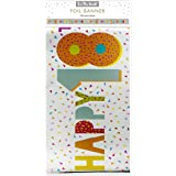 amscan 9900833 18 Today Holographic Badge Party Favor-5.5cm-1 Pc