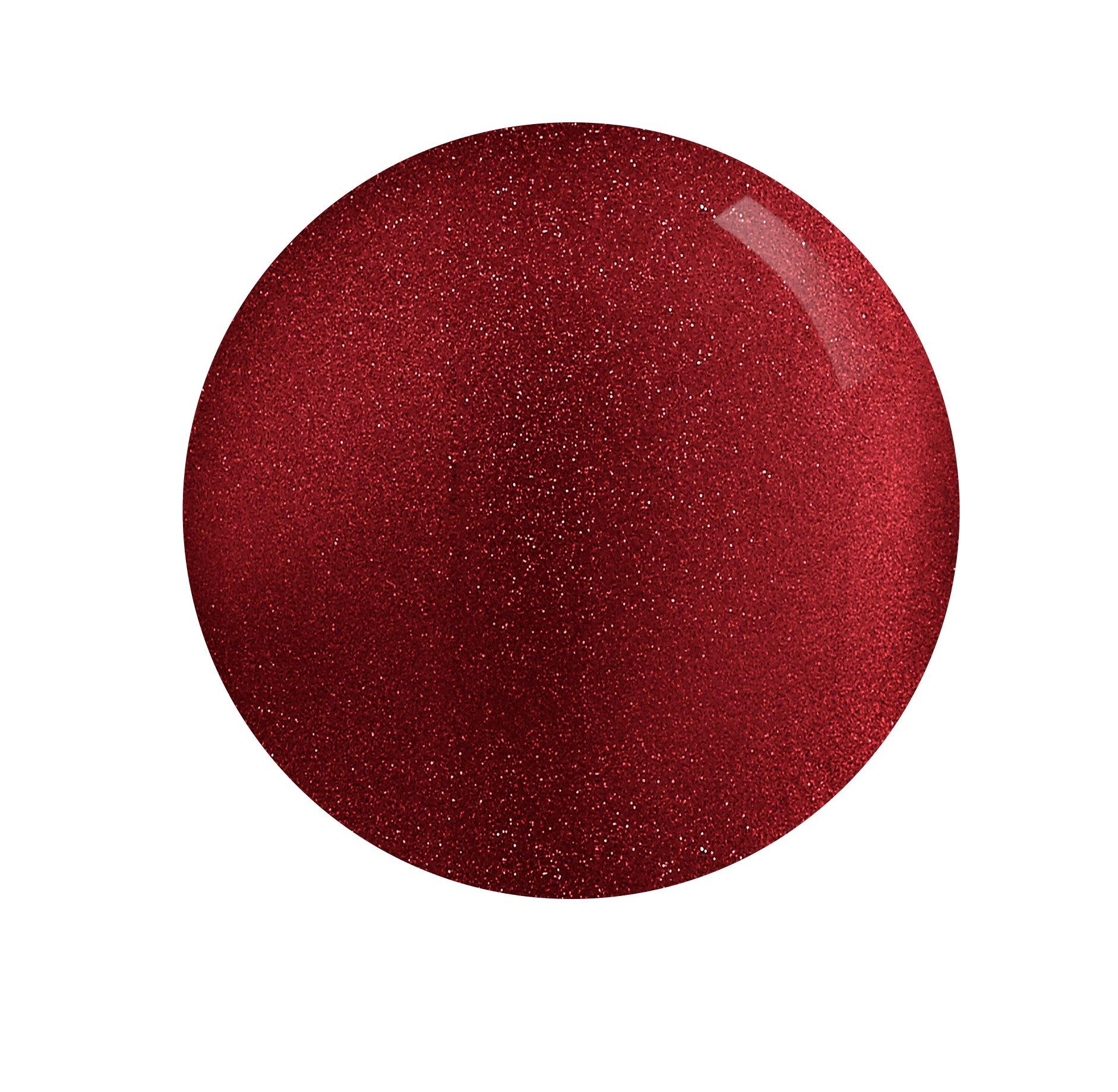 Esmalte de uñas Rimmel London 15Year Collection Rock 'N' Sparkle, rojo oscuro