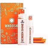 WHOOSH! Kit de nettoyage d'écran - Idéal pour smartphones, iPad, lunettes, liseuses, LED, LCD et téléviseurs - Comprend 100 m