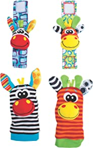 Playgro Jungle Wrist Rattle and Foot Finder, Piece of 1