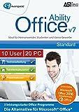 Ability Office 7 - Small Business Lizenz für 10 Benutzer und bis zu 20 PC!  Microsoft 10|8|7|Vista [Download]