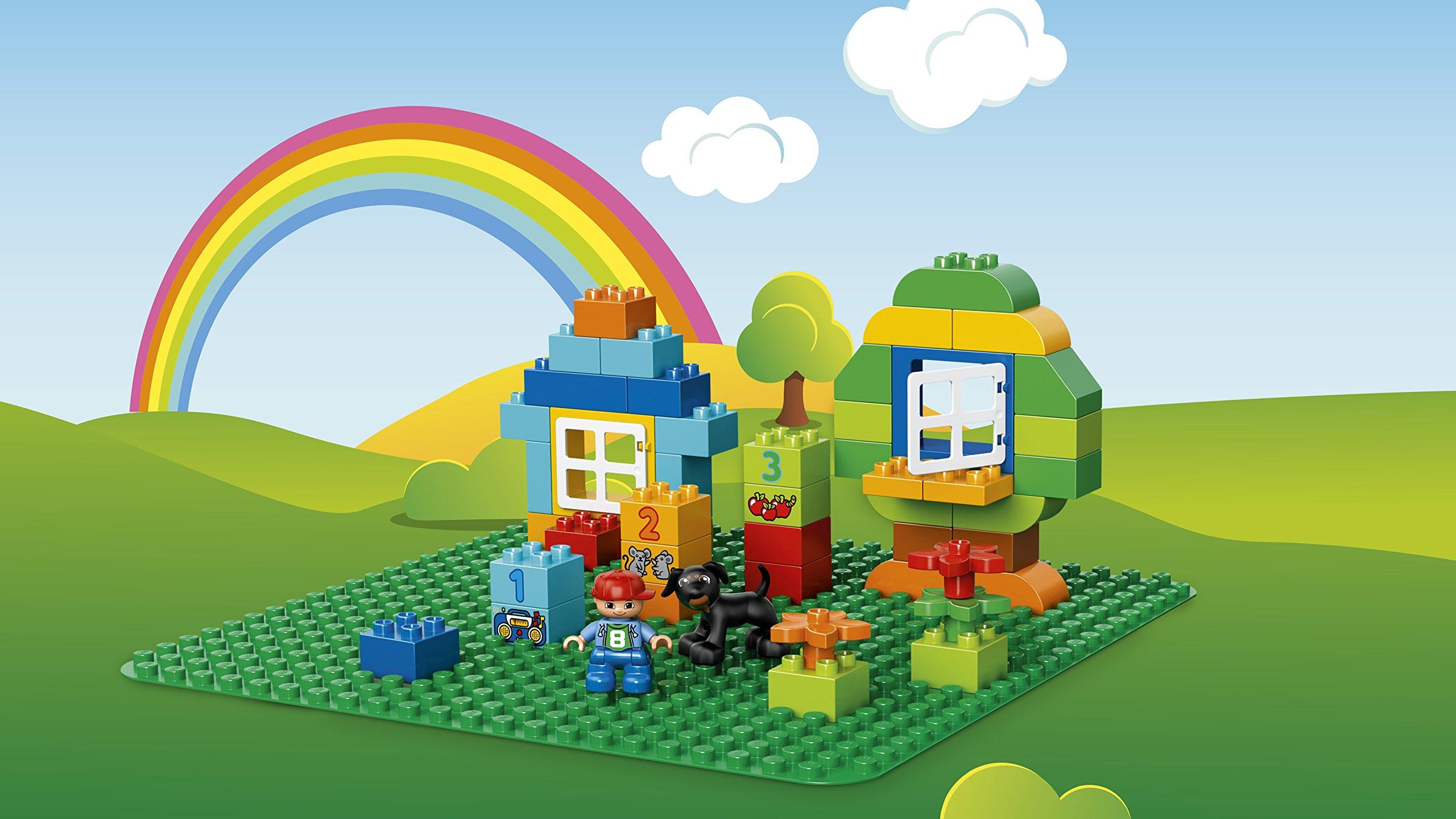 LEGO Duplo Base per Costruzioni, Verde, 2304 3 spesavip