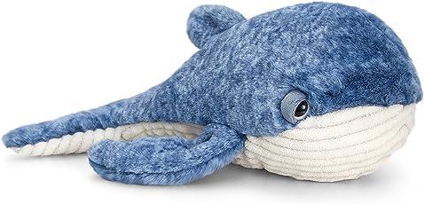 Keel Toys sw0762Soft Toy, Blau/Weiß, 35cm