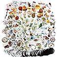 274PCS Autocollants Stickers Automne Amimaux Fleurs Plantes Etiquettes Adhésif de DIY Scrapbooking Album Photo 6 Boîtes pour