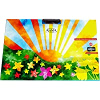 A-Mart™ Amazing Beautiful Designs A3 Size Clipboard for Kids/School/Offices(Random Color and Design)