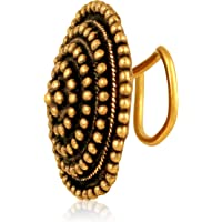 Asmitta Classy Wonderful Gold Plated Nose Ring for Women