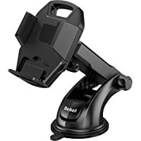 Beikell Supporto Auto Smartphone, Supporto per Telefono per Auto [360 Gradi di Rotazione] con Cruscotto Regolabile e…