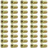 50 Stuks Inschroefmoer voor hout M6 M8 met Inbus draadbussen voor meubels (M6*25)