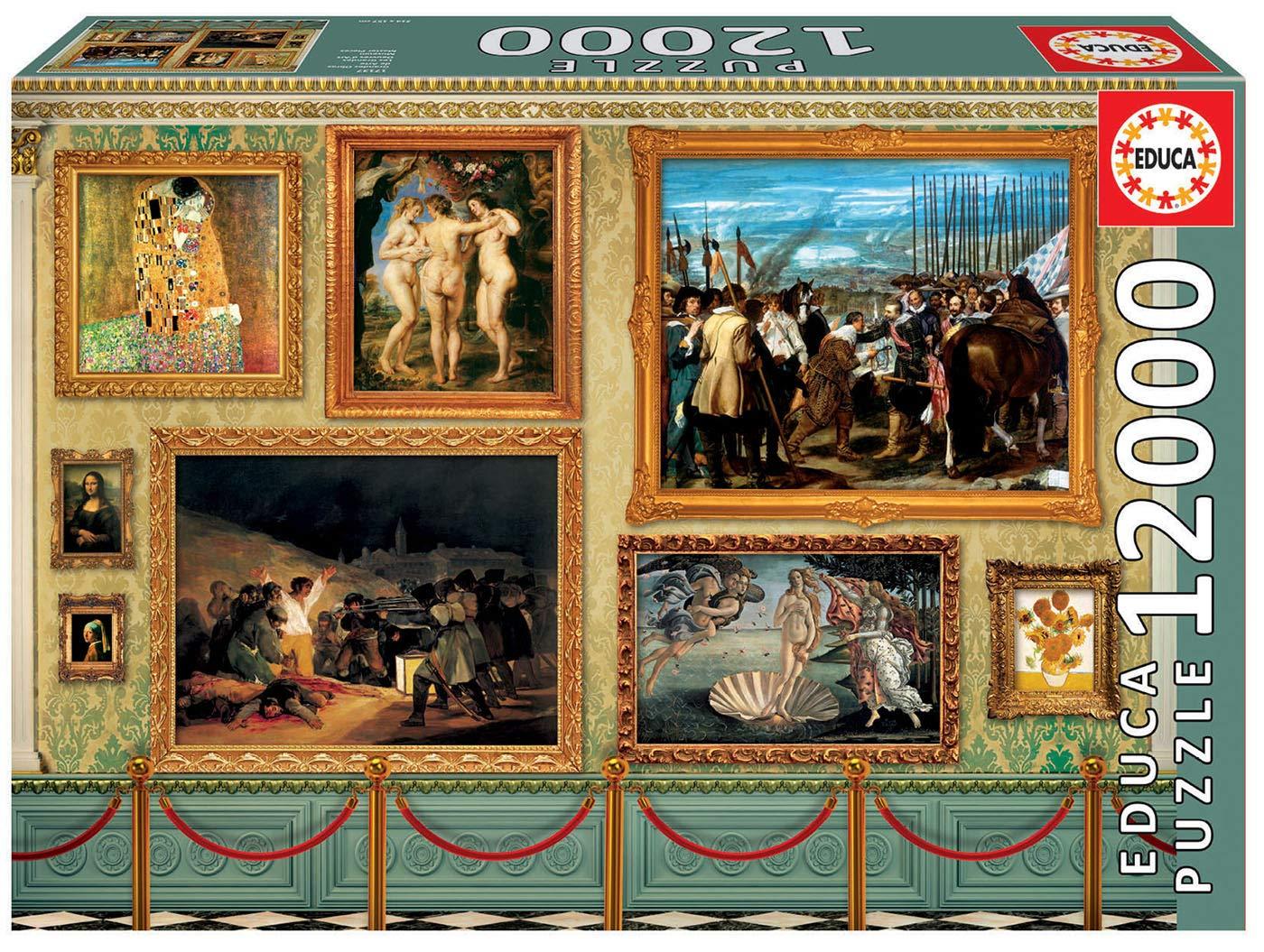 Educa Borrás – Grandes Obras de Arte Puzzle, 12000 piezas (17137)