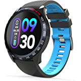 novasmart - runR IV Smartwatch, Fitness Tracker, Activity Tracker, Smart Band with Colour Display, Heart Rate and Blood Press